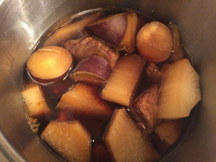豚角煮圧力鍋